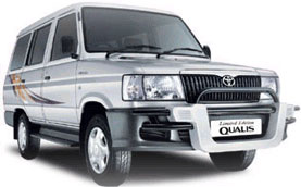 Qualis Taxi India Toyota Qualis Taxi Rental India Taxi Rentals